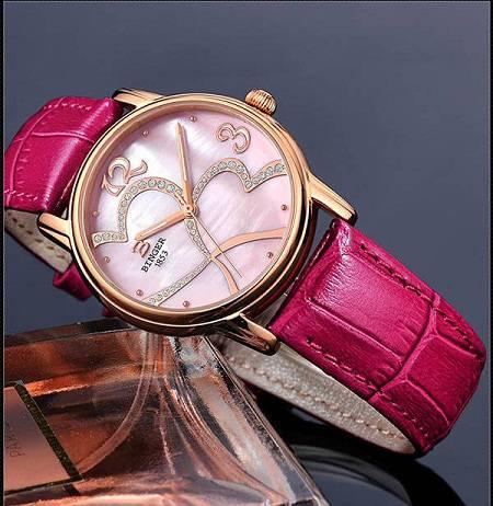 Đồng hồ dây da nữ chính hãng Binger BG56